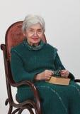 Dame âgée Images stock