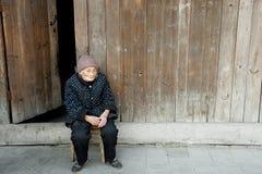 Dame âgée Image stock