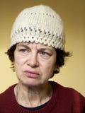 Dame âgée Photographie stock libre de droits