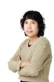 Dame âgée asiatique photos stock