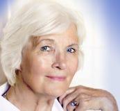 Dame aînée Images libres de droits