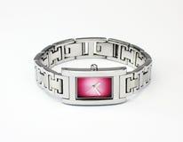 Dame-Armband-Uhr stockbild