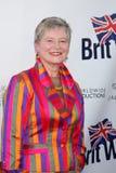 Dame Barbara Hay che arriva al quinto partito annuale del lancio di BritWeek Immagini Stock Libere da Diritti
