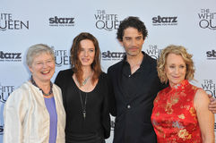Dame Barbara Hay & Rebecca Ferguson & James Frain & Philippa Gregory Royalty Free Stock Photo