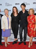 Dame Barbara Hay & Rebecca Ferguson & James Frain & Philippa Gregory Stock Photos