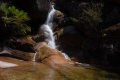 Dame Bath Falls - Mt-Büffel Stockfotografie