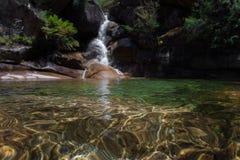 Dame Bath Falls - MT-Buffels royalty-vrije stock foto's