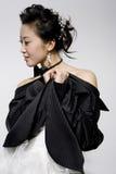 Dame chinoise Image libre de droits