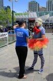 Dame - Clown Lizenzfreies Stockbild