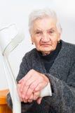Dame d'aîné de Healty Images stock