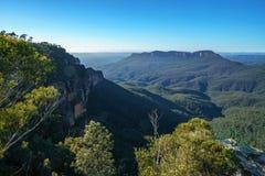 Dame darleys vooruitzicht, blauw bergen nationaal park, Australië 1 stock fotografie