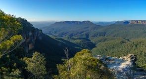 Dame darleys vooruitzicht, blauw bergen nationaal park, Australië 3 stock afbeelding