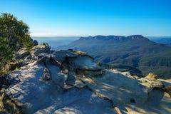 Dame darleys vooruitzicht, blauw bergen nationaal park, Australië 6 royalty-vrije stock fotografie