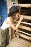 Dame de ferme Photos libres de droits
