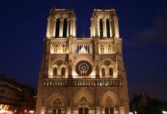 dame de France notre Paryża obraz royalty free