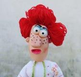 Dame de marionnette photo stock