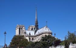 dame de notre paris fotografering för bildbyråer
