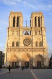 dame de notre Paris Photo libre de droits