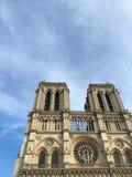 dame De Notre Paryża zdjęcie stock