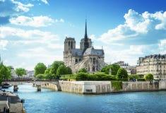dame De Notre Paryża obraz stock