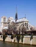 dame De Notre Paryża zdjęcia royalty free