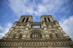 dame De Notre Paryża zdjęcia stock