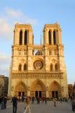dame De Notre Paryża Fotografia Stock