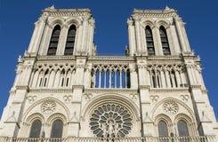 dame De Notre Paryża Fotografia Royalty Free
