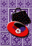 Dame in de Rode Maatschappij royalty-vrije illustratie