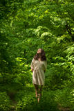 Dame des Waldes lizenzfreie stockfotos