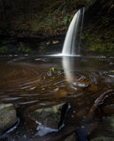Dame Falls South Wales Royalty-vrije Stock Foto's