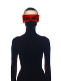 Dame futuriste élégante Photos libres de droits