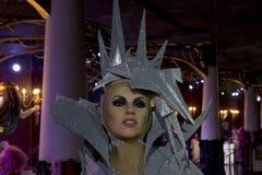 Dame Gaga Stockbild