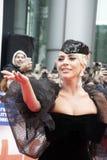 Dame Gaga an der Premiere 'eines Sternes ist getragenes 'tragendes Armani Privéat am internationalen Film-Festival Torontos stockbilder