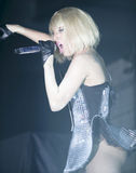Dame Gaga In Köln Lizenzfreies Stockfoto