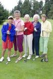 Dame Golfers lizenzfreies stockfoto