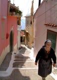 Dame grecque Photo stock