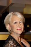 Dame Helen Mirren bij Mevrouw Tussauds Stock Afbeeldingen