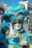 Dame im Kostüm am Karneval von Venedig 2011 Lizenzfreies Stockfoto