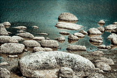 Dame Island Lake Stock Afbeelding