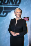 Dame Judi Dench in Madame Tussauds wax museum in London. Marie Tussaud was born as Marie Grosholtz in 1761 Royalty Free Stock Photography