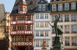 Dame Justice, Frankfurt Lizenzfreie Stockfotografie