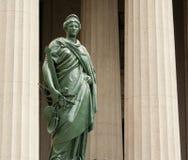 Dame Justice Ins't Blind royalty-vrije stock foto