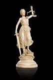 Dame Justice Statue Stockfotos