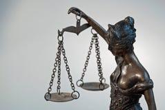 Dame Justice - Temida - Themis Royalty-vrije Stock Fotografie