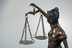 Dame Justice - Temida - Themis Lizenzfreie Stockfotografie
