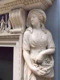 Dame Lever Art Gallery bij het modeldiedorp van Havenzonlicht, door William Hesketh Lever voor zijn arbeiders van de zeepfabriek  Stock Afbeeldingen