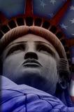 Dame Liberty stockfotografie