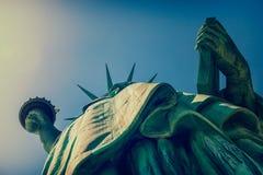 Dame Liberty New York City Royalty-vrije Stock Foto