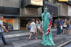 Dame Liberty TS Lizenzfreie Stockfotografie